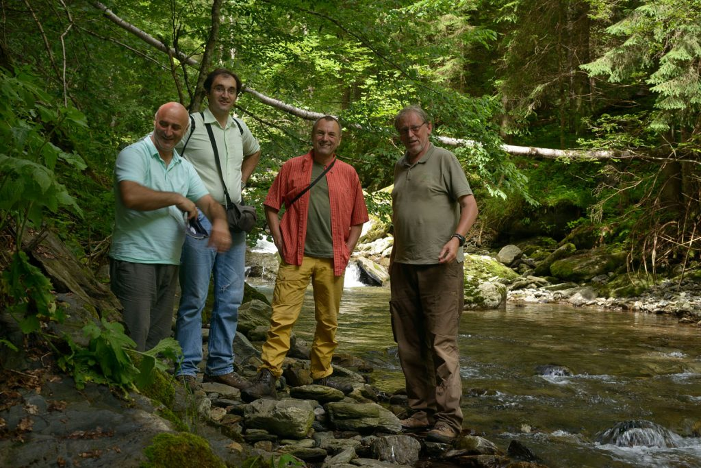 German Foundation DBU and Uni Rottenburg support virgin forest protection in Romania